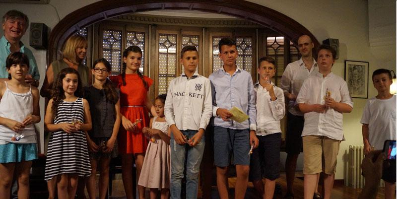 Audici de fi de curs nens escola luthier de m sica - Casa luthier barcelona ...