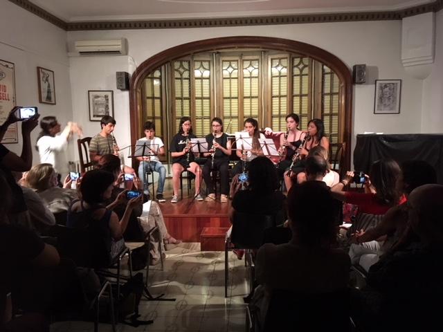 Audici n de clarinete escola luthier de m sica - Casa luthier barcelona ...